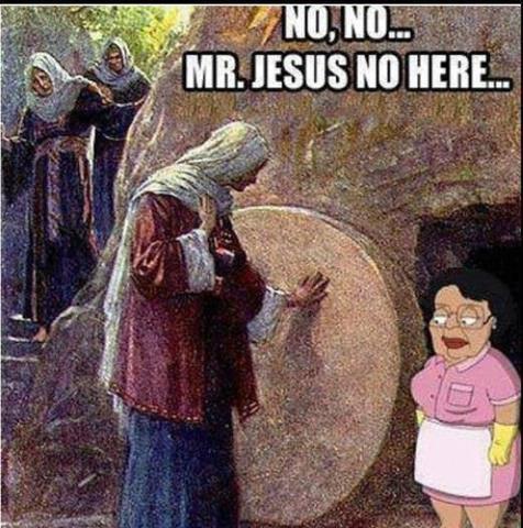 Mr Jesus No Here